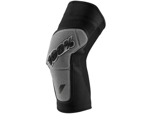 100% Ridecamp Protège-genoux, black/grey
